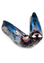 Irregular Choice Little Lady Daisy (Black)