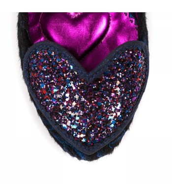 Poetic Licence for Irregular Choice Loren Love (Black/Blue)
