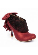 Irregular Choice Love Means Ankle Shoe/Boot Red