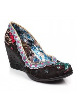 Irregular Choice Love Nest (Black Multi)