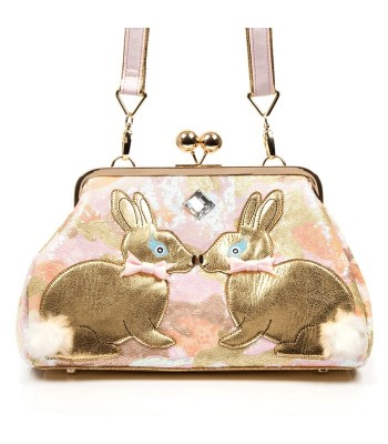 Irregular Choice Magic Bunny Handbag (Gold)