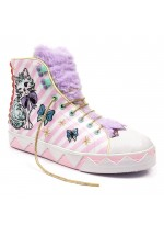 Irregular Choice Magic Mog (pink/purple)