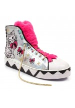 Irregular Choice Magic Moggy (pink/silver)