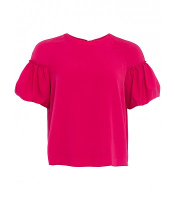 French Connection Puff Sleeve Top (Mimosa)