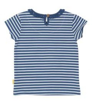 Kite Mini stripy t-shirt (Blue Stripe)