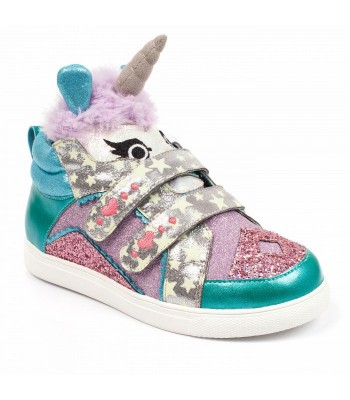 Irregular Choice Kids Mini Candy (Blue/Pink Multi)