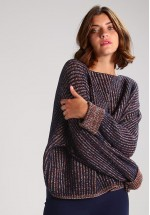 French Connection Millie Mozart Jumper, Nocturnal Multi