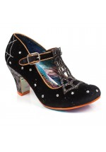 Irregular Choice Mrs Webb (Black) - Halloween