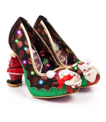 Irregular Choice Mr and Mrs Claus (Green/Red)