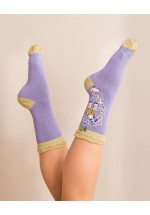 Powder A-Z Ankle Socks - P