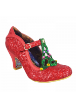 Irregular Choice Nicely Festive Red
