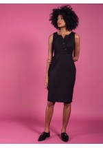 Darling Orla Fitted Dress Black