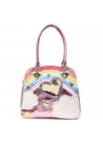Irregular Choice Over The Rainbow Bag (Pink Multi)