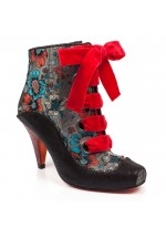 Poetic Licence for Irregular Choice Perennial Passion (Black Multi)