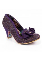Irregular Choice Kanjanka (Purple Multi Glitter)