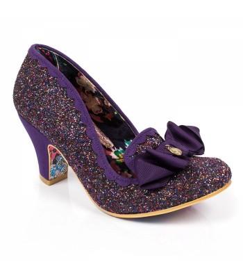 Irregular Choice Kanjanka (Purple Multi Glitter)