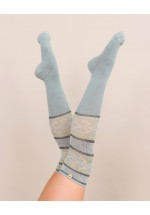 Powder Fair Isle Long Socks