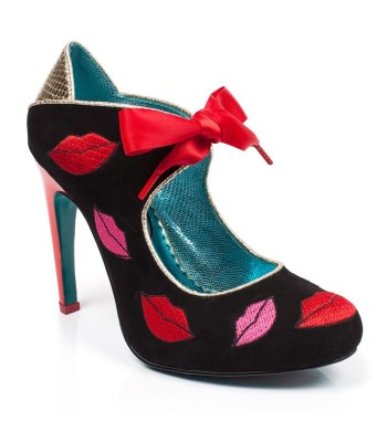 Poetic Licence for Irregular Choice Pucker Up (Black)