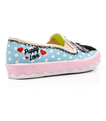 Irregular Choice Puppy Love (Blue)