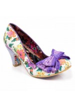 Irregular Choice Ban Joe (Purple Floral)