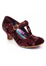 Irregular Choice Builds Bridges (Bordo Red)