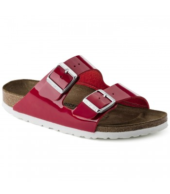 Birkenstock Womans (Red) Arizona Birko-Flor Patent