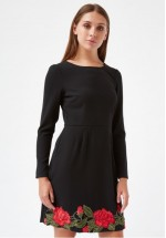 Traffic People Geisha Tales - Geisha Long Sleeved Dress (Black)