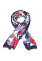 Irregular Choice Pom Pom Parade Winter Scarf