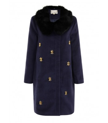 Darling Scicily Coat Midnight
