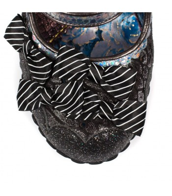 Irregular Choice Shoependous (Black)
