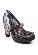 Irregular Choice Shoependous (Black)