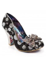 Irregular Choice Nick Of Time (Silver / Black)