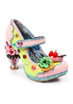 Irregular Choice Ice and Slice (Pink and Yellow)
