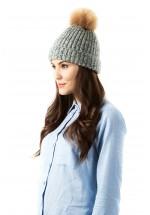 Sugarhill Boutique Space Dye Faux Fur Hat