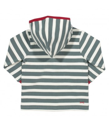 Kite Clothing Lulworth Hoody Toddler Boys (Grey/Red)