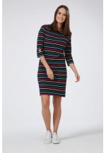 Sugarhill Boutique Brighton Star Multi Stripe Dress