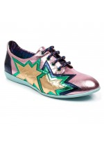 Irregular Choice Star Light (Gold / Green / Pink)