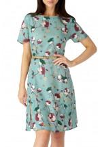 Sugarhill Boutique Floral Bee Split Skirt Dress