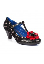 Poetic Licence Tea Dance Shoes Black