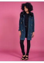 Darling Scicily Coat Teal
