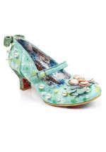 Irregular Choice Tiddly Winks (Turquoise Blue)