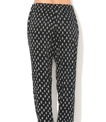 French Connection Trousers (Black Multi)