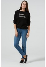 Sugarhill Boutique Twinkle Twinkle Rita Signature Sweater (Black)