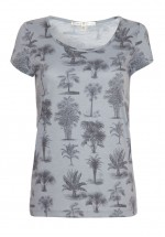 Uttam Boutique Palm Tree Print T-Shirt