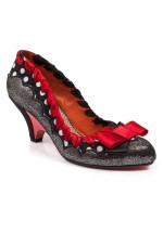 Poetic Licence For Irregular Choice Velveteen (Silver)