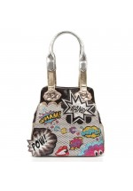 Irregular Choice Wham Bang Pow Handbag (Black)