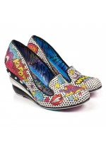 Irregular Choice Wow Pow (Black)