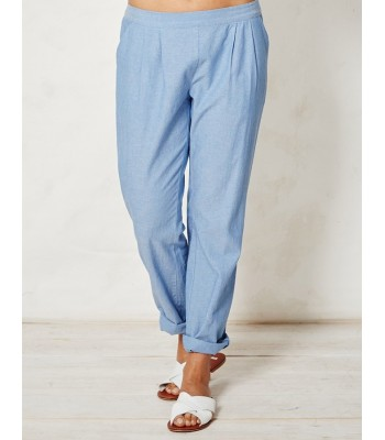 Braintree Kara Organic Cotton Chambray Trousers