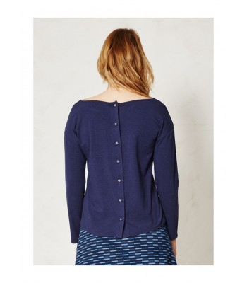 Braintree Morelle Bamboo Top (Navy)