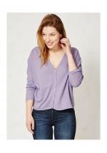 Braintree Janika Hemp Cardigan (Lavender)